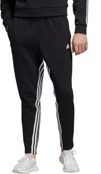 adidas Must Haves 3-Stripes Tapered joggingbroek Heren Zwart