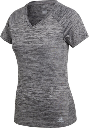 Adidas - Freelift shirt - Dames - Shirts - Grijs - M