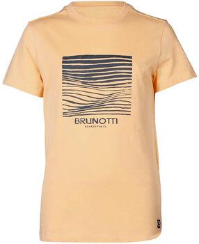 Brunotti Tim-Print kids t-shirt Jongens Oranje