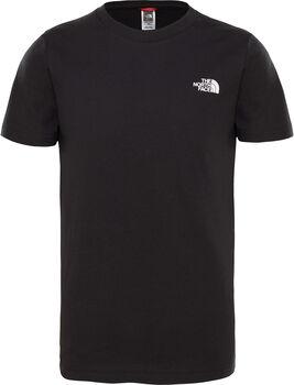 The North Face Simple Dome shirt Jongens Zwart