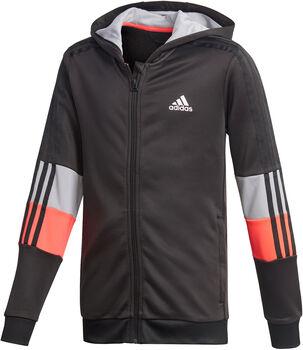 adidas Must Haves AEROREADY 3-Stripes Full-Zip kids hoodie  Jongens Zwart