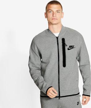 Nike Sportswear Tech Fleece bomberjack Heren Grijs
