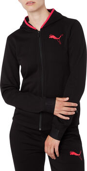 Puma Hooded Zip jack Dames Zwart