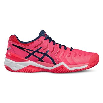 Asics GEL-Resolution 7 Clay tennisschoenen Dames Roze