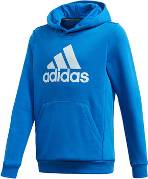 adidas Must Haves Badge of Sport Fleece sweater Blauw