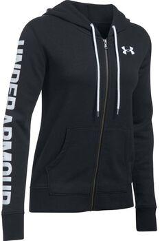 Under Armour Favorite Fleece Full Zip hoodie Dames Zwart