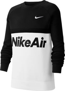 Nike Air Crew sweater Jongens Zwart