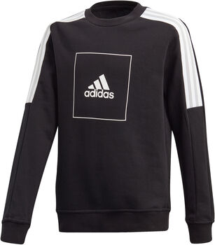 ADIDAS Athletics Club Crew sweater Jongens Zwart