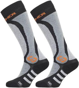 Sinner Pro 2-pack sokken Heren Zwart