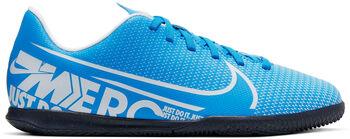 Nike Vapor 13 Club jr zaalvoetbalschoenen Jongens Blauw