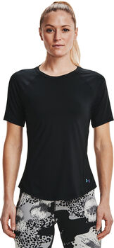 Under Armour Rush t-shirt Dames Zwart