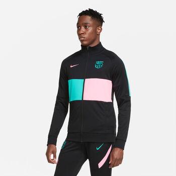 Nike FC Barcelona jack Heren Zwart