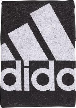 adidas L handdoek Zwart