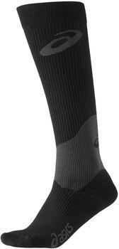 Asics compression sock women Dames Zwart
