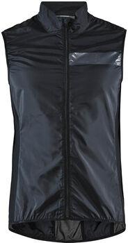 Craft Essence Light wind vest Heren Zwart