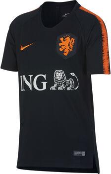 Nike Breathe Nederlands Elftal Squad shirt Jongens Zwart