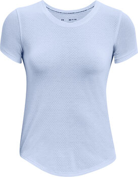 Under Armour Streaker t-shirt Dames Blauw