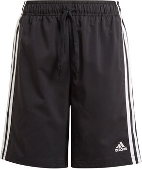 adidas Essentials 3-Stripes Chelsea Short Jongens Zwart