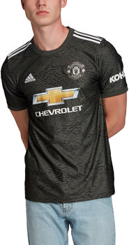 adidas Manchester United uitshirt 2020-2021 Heren Groen
