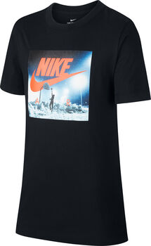 Nike Big Kids' (Boys') T-Shirt Jongens Zwart