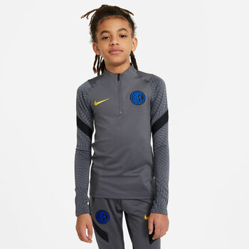 Nike Inter Milan Strike Drill kids top 20/21 Jongens Zwart