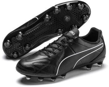 Puma King Hero FG voetbalschoenen Heren Zwart