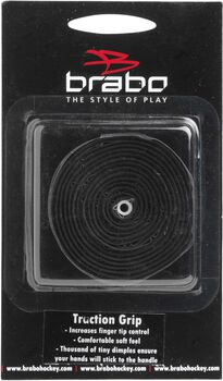 Brabo Traction hockeygrip Zwart