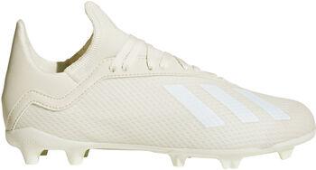 ADIDAS X 18.3 FG jr voetbalschoenen Wit