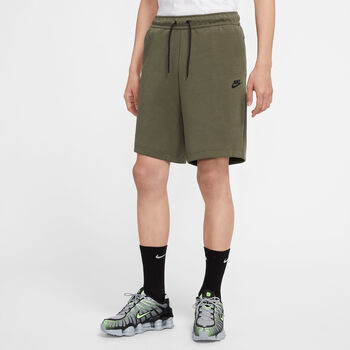 Nike Sportswear Tech Fleece short Heren Groen