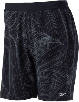 Reebok Speed short Heren Zwart