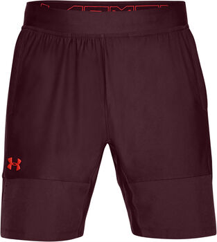 Under Armour Threadborne Vanish short Heren Paars