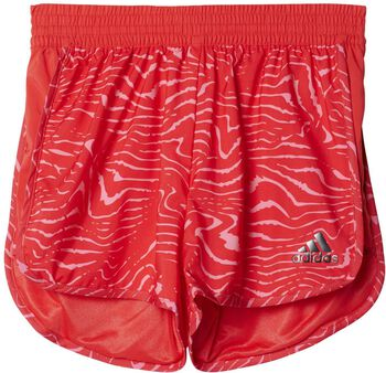 Adidas Marathon Training jr short Meisjes Roze