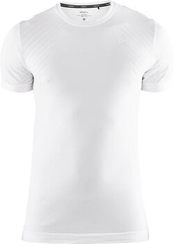 Craft Fuseknit Comfort Short Sleeve ondershirt Heren Wit