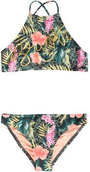 Brunotti Camellia-Hawai kids bikini  Meisjes Groen