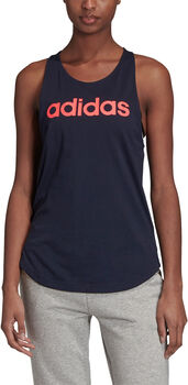 adidas Linear Loose top Dames Blauw