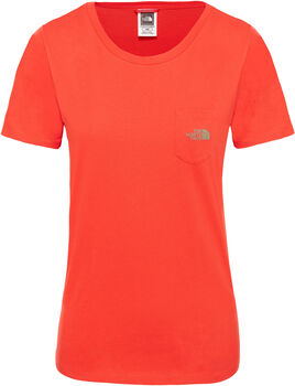 The North Face Extent P8 Logo shirt Dames Rood