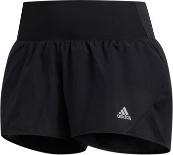 adidas Run It 3-Stripes PB short Dames Zwart