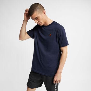 Nike Court Heritage shirt Heren Blauw