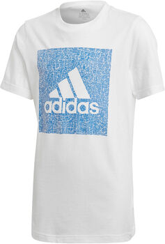 adidas Must Haves Badge of Sport kids shirt Wit