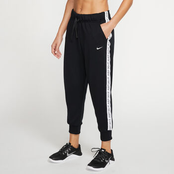 Nike Dri-FIT 7/8 trainingsbroek Dames Zwart