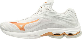 Mizuno Wave Lightning Z6 volleybalschoenen Dames Wit