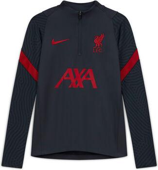 Nike Liverpool FC Strike Drill kids top 20/21 Jongens Zwart