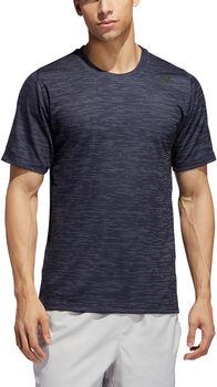 ADIDAS FreeLift Tech Fitted Gestreept Gemêleerd T-shirt Heren Blauw