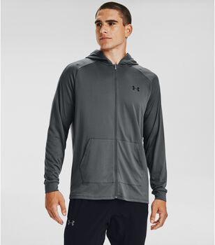 Under Armour Tech 2.0 FZ hoodie Heren Grijs