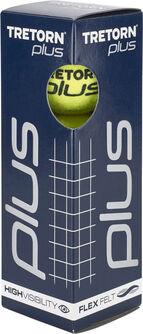 Plus 3 Pack tennisballen