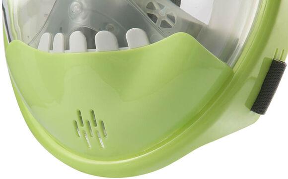 kids crocodile green snorkelmasker