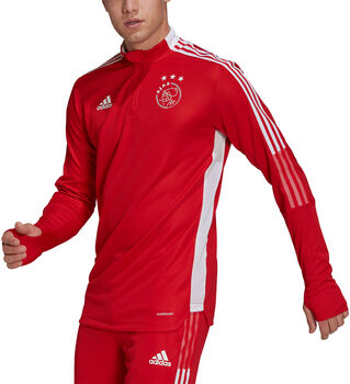 adidas Ajax Tiro Longsleeve trainingsshirt 21/22 Heren Rood