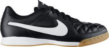 Nike Tiempo Genio Leather IC jr zaalvoetbalschoenen Zwart