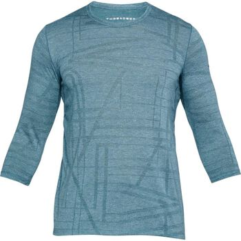 Under Armour UA Threadborne Utility shirt Heren Blauw
