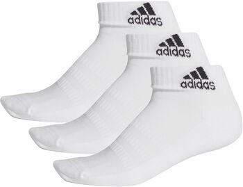 adidas Gevoerde enkelsokken (3 paar) Wit